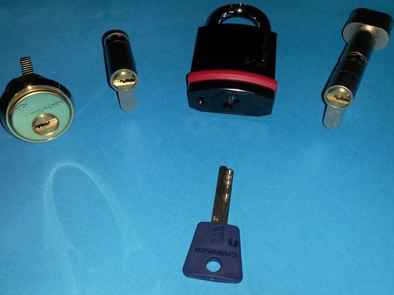 Keyed Alike locks and padlocks
